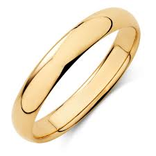 gold mens wedding bands men s wedding band in 10kt yellow gold