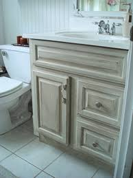 Cottage Style Bathroom Cabinets by Distressed Bathroom Vanity Bathroom Vanity Remix Regarding Ton