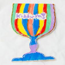 seder cup shabbat craft project kiddush cup ornament jewishboston