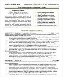 Senior Hr Manager Resume Sample Executive Resume Templates 27 Free Word Pdf Documents Download
