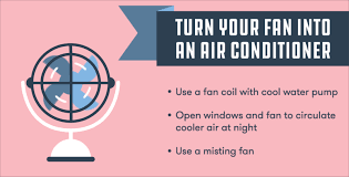 fan that uses ice to cool hacks to stay cool beat the heat using less energy earth911 com