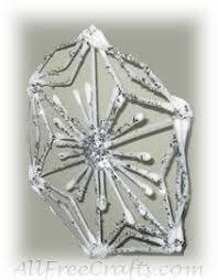 q tip snowflake crafts