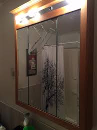 bathroom mirror replacement amazing bathroom cabinet mirror replacement pictures best home