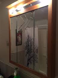 Bathroom Medicine Cabinet With Mirror Medicine Cabinet Mirror Replacement House Decorations