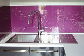 credence cuisine en verre sur mesure couleur credence cuisine verre sur mesure crédences cuisine