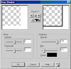 adding a picture frame in paint shop pro 7