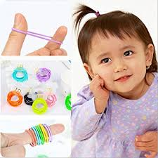 baby hair ties habibee 120pcs tiny baby elastic rubber hair
