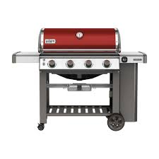 home depot gas fire pit black friday weber genesis ii e 410 4 burner propane gas grill in crimson red