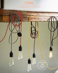 Coloured Cord Pendant Lights Coloured Cord Pendant Lights 94 For Your Country Pendant