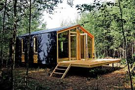 dubldom is a tiny modular cottage manufactured in russia it has a