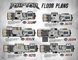 Toy Hauler Floor Plans 2015 Keystone Raptor Toy Hauler