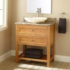 depth of bathroom vanity unpolished teak wood narrow depth bathroom vanity with oval ivory
