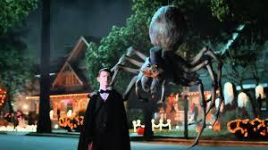 halloween giant talking spider skittles youtube