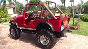 jeep 1980 cj5 jeep cj5 walk around and drive was for sale v8 amc 304