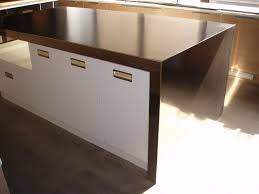 stainless steel countertop brooks custom stainless steel countertops