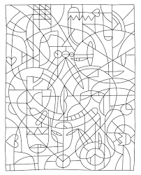 color by number coloring pages free coloring pages for kids