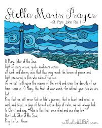 catholic all year stella maris prayers by jpii printable