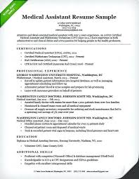 entry level medical assistant resume samples best medical