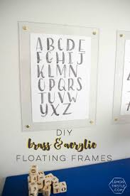 762 best wall decor images on pinterest wall decor diy wall art diy brass and acrylic floating frames for a fraction of the cost so modern
