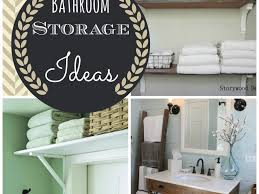 Unique Bathroom Storage Ideas Bathroom 39 Cool Bathroom Over The Toilet Cabinets Home Design