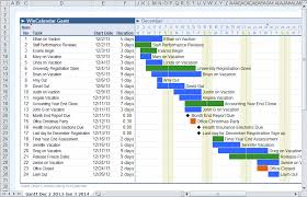 Excel 2013 Gantt Chart Template Calendar Maker Calendar Creator For Word And Excel