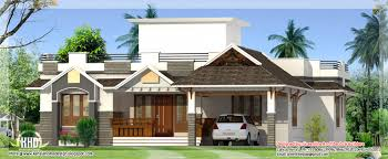 One Floor House Single Floor House Plans And Elevations Kerala One Floor Building