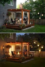 Cool Backyard Landscaping Ideas Best 25 Backyard Decks Ideas On Pinterest Decks Decks And