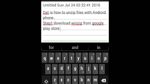 how to unzip files on android how to unzip files with your android phone