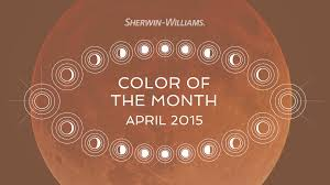 april 2015 color of the month decorous amber sherwin williams