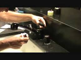 Repair American Standard Kitchen Faucet Repairing A Leaking American Standard Kitchen Faucet Part 2