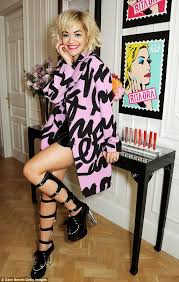 Get The Rimmel Look Meme - rita ora showcases her first rimmel collection and joins alumni