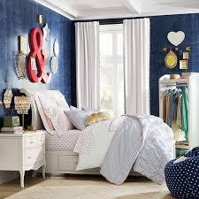 Pb Teen Bedrooms Lilac Storage Sleigh Bed Pbteen