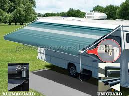 Rv Awning Covers Pioneer Lite Crank Operated Rv Awnings Blue Gator Covers 239