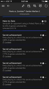 xbox one how to unlock the last four u0027secret u0027 achievements