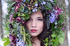 floral headdress q a w susan mcleary of flowers in arbor michigan