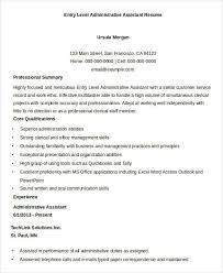Tally Resume Sample by Best Administrative Resume 17 Free Word Pdf Documents Download