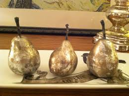 diy how to make silver mercury glass pears the of hospitality