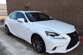 used lexus is 250 f sport 2014 lexus is250 f sport like new low miles free shipping used