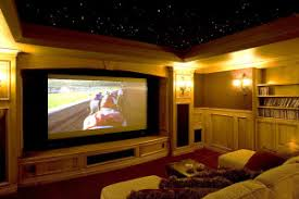 Projector Media Room - home theater electronic integration