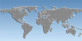 Map Of The Earth Clipart Stylized Map Of The Earth