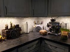 groutless kitchen backsplash of pearl mosaicshell mosaic tile of pearl tiles