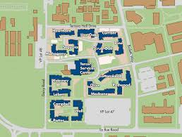 potter hall map of tercero area residence halls locations on the uc davis campus