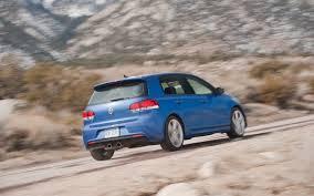 2012 volkswagen golf r first test motor trend
