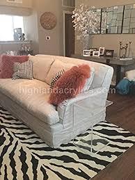 sofa c table amazon com c table clear acrylic lucite plexiglass end side table