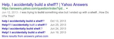 Help I Accidentally Build A Shelf Know Your Meme - 15 wtf yahoo answers that will actually leave you laughing