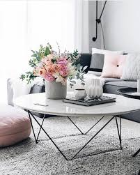 pink table l extraordinary coffee table ideas for living room white rounded