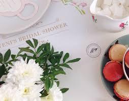 vintage shabby chic bridal shower vena esperanza