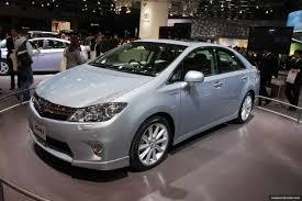 lexus hs hybrid tokyo u002709 toyota sai hybrid is a budget lexus hs 250h