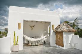 simple luxury beach house rentals holbox island bungalow