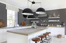 gray kitchen walls with white cabinets 50 gorgeous gray kitchens that usher in trendy refinement
